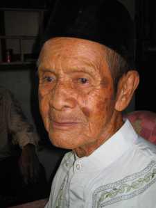 Simbah Amad Dakwan semasa hidup.