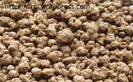 fosfat alam granul