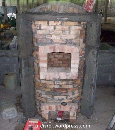 tungku kayu bakar rotary dryer