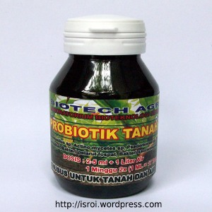 probiotik tanah biofertilizer