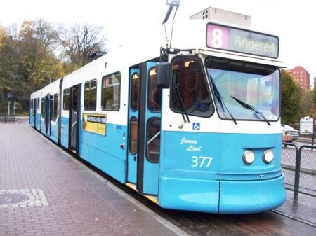 tram uzur goteborg sweden