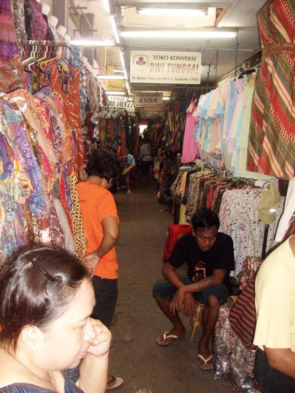 Grosir batik pasar klewer solo