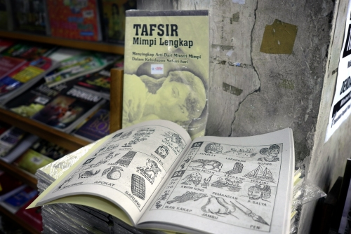buku tafsir mimpi, best seller book in magelang