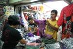 Suasana Pasar Klewer Batik Solo