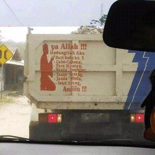 doa sopir truk
