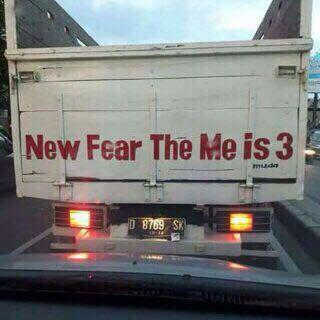 kata lucu di bak truk