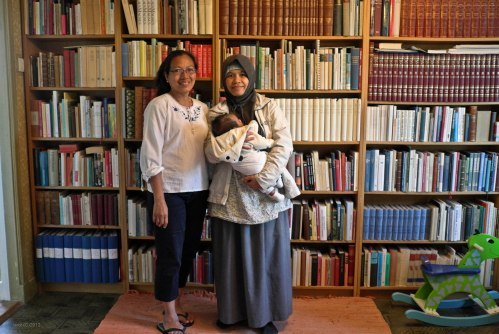 Ruang perpustakaan Gosta