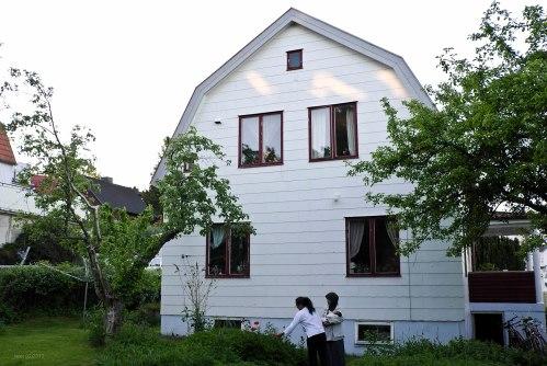 Rumah Khas Swedia milik Gosta