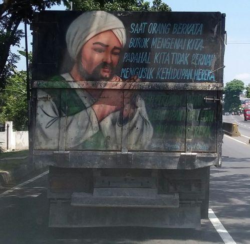 kata lucu di truk pantura