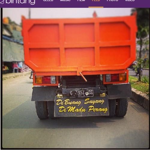 bak truk  kata lucu