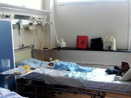 Yusuf di ruang perawatan