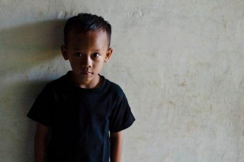 potret fotografi alif anak kecil