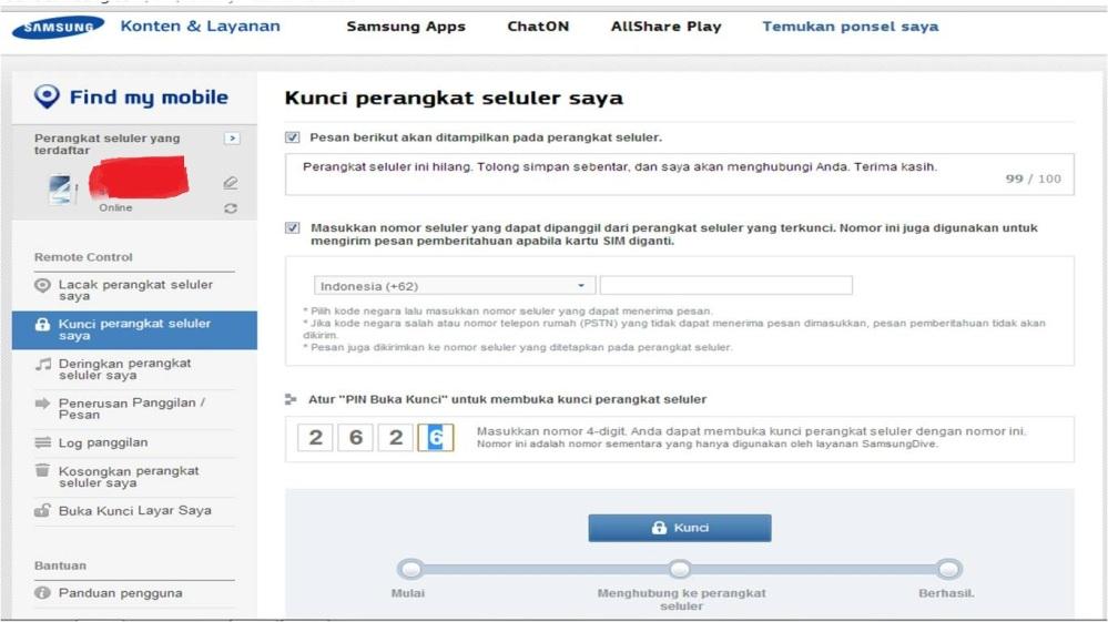 Tips Android: Menemukan Kembali Gadget Samsung Anda yang Hilang (6/6)