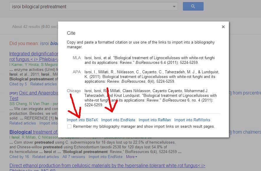 Tips Cara Mudah Dan Cepat Menyimpan Referensi Dari Google Scholar