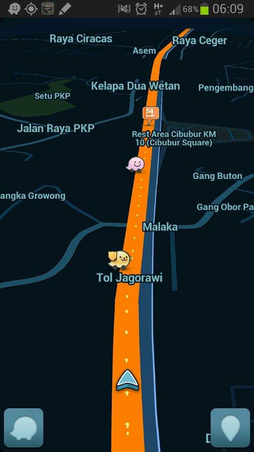 Tips Android: Waze Social GPS Maps & Traffic, Aplikasi Menghindari Jalan Macet (3/3)