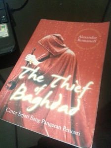 Novel terjemahan The Thief of Baghdad