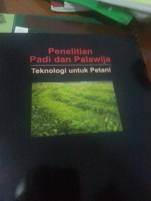 Penelitian Padi dan Palawija, Buku gratis dari Puslitbangtan.