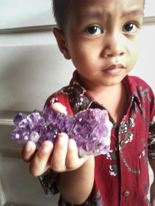 akik unggu lavender amethys