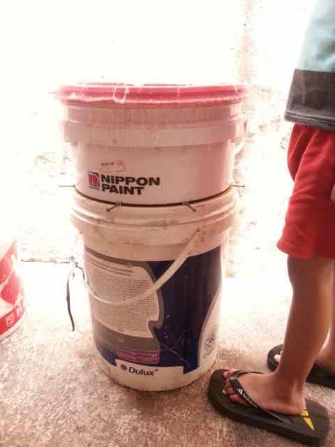 Komposter sampah rumah tangga sederhana
