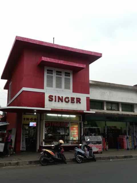 Toko mesin jahit Singer Bogor