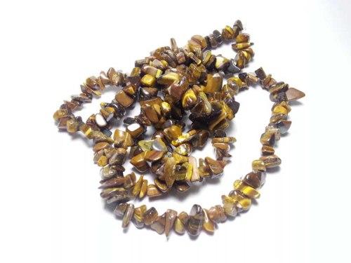 Bahan kerikil biduri sepah untuk kalung dan gelang. Bahan sudah dilubangi dan dipoles, tinggal diberi tali saja.