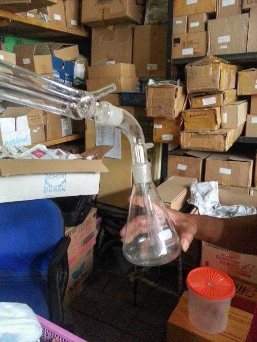 Distilator bioetanol etanol laboratorium