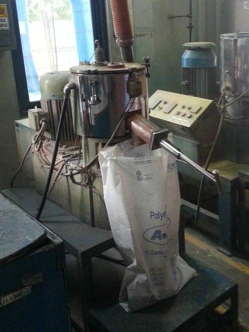 Mixer bioplastik