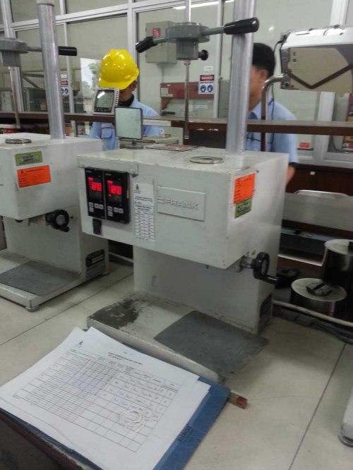 alat pengujian polimer