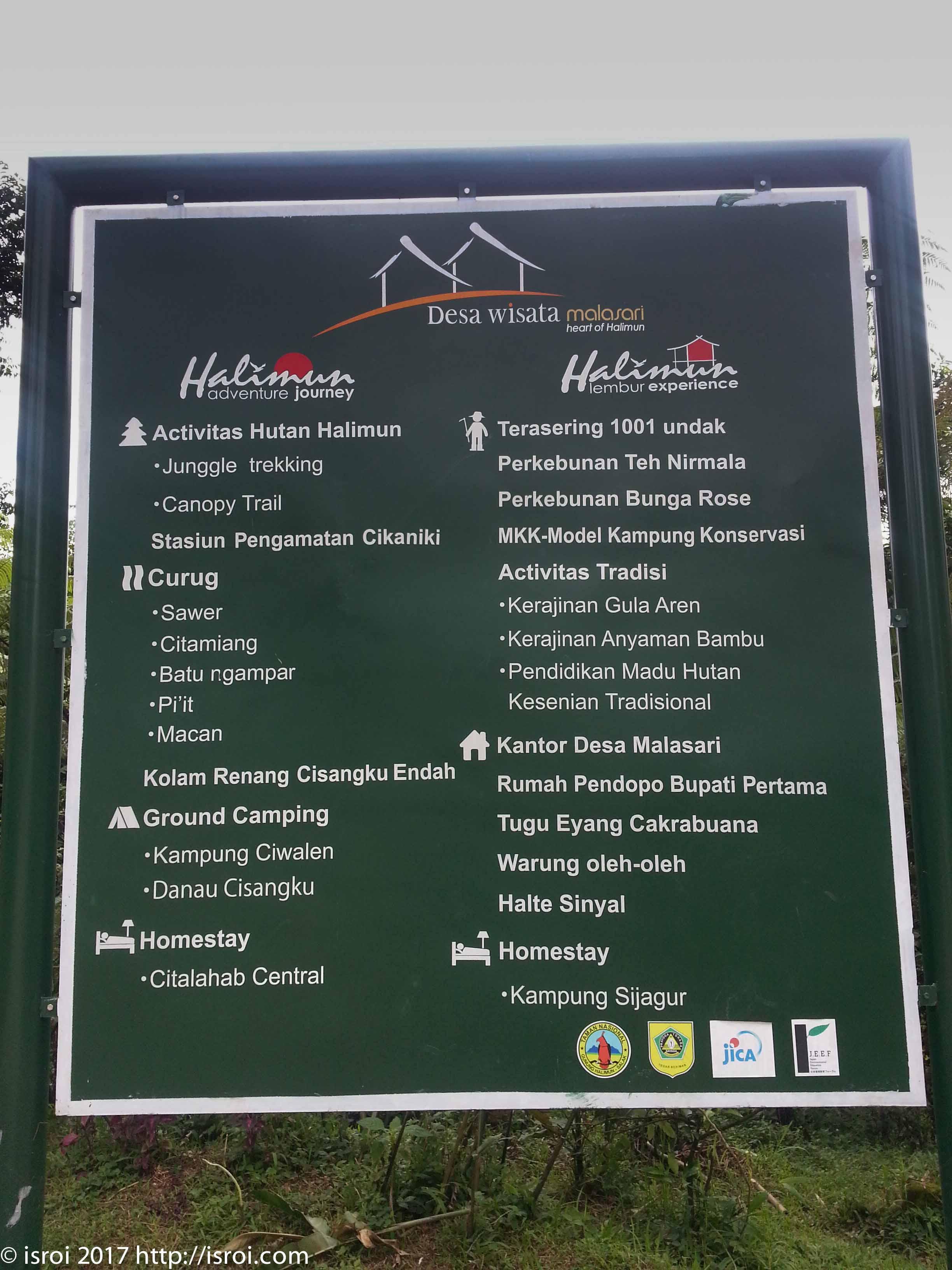 Desa wisata citalahab halimun