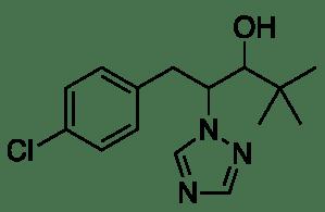 Rumus molekul paclobutrazol
