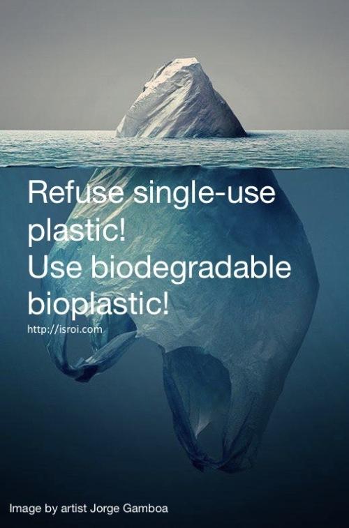 bioplastic, plastic