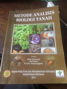 Metode Analisis Biologi Tanah, Prof. Rasti Saraswati
