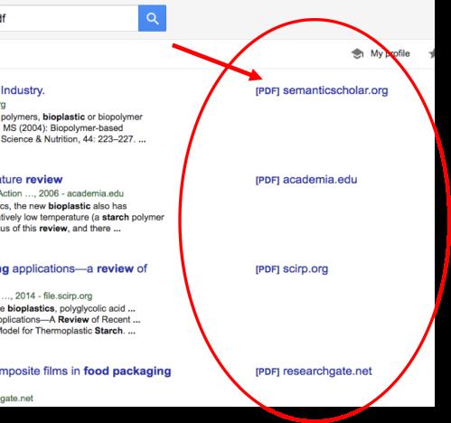 jurnal ilmiah gratis dari Google Schoolar