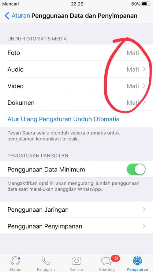 Tips Whatsapp tidak Lemot