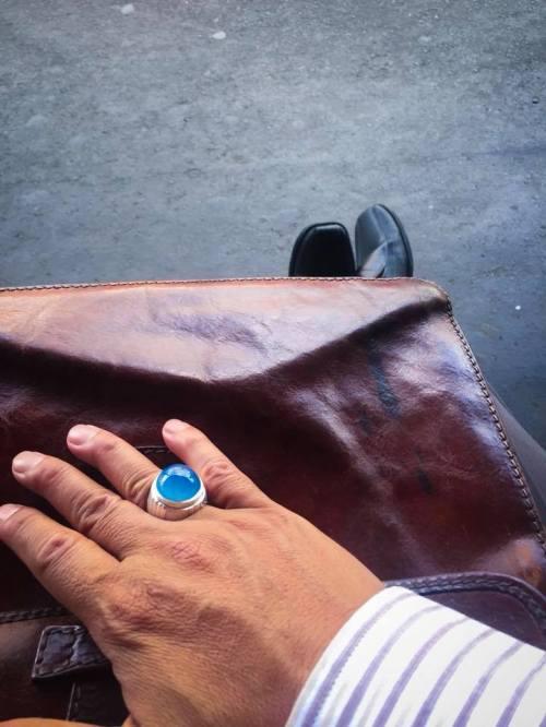 Batu mizone aceh warna biru